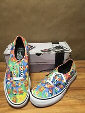 NINTENDO VANS AUTHENTIC Shoes Super Mario Brothers VN0004MLJPA SIZE 6.5 men