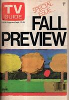 1977 TV Guide Fall Preview - Love Boat; Betty White; Lou Grant; Chips; Soap