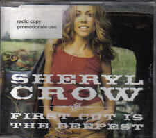 Sheryl Crow-First Cut Is The Deepest Promo cd single