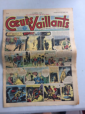 Coeurs Vaillants N°44 DIMANCHE 29 OCTOBRE 1950 BE