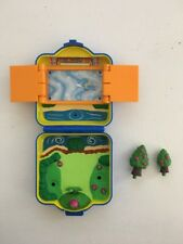 Vintage Tomy 1997 Play Set Pokemon RARE Gym Polly Pocket Nintendo