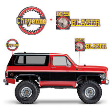 Logo Sticker for Traxxas Trx-4 RC4WD Chevrolet K5 Blazer Cheyenne 3D Metal Badge