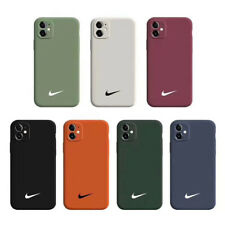 Nike Logo Luminous Fashion Silica Gel Soft Phone Case Cover For iPhone 11 Pro X