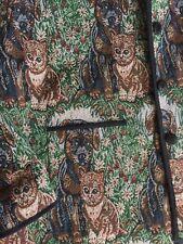 New-JANE ASHLEY Woman- Tapestry Jacket Size 4X - Puppies & Kittens