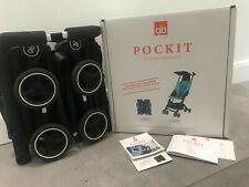 GB Pockit futuro perfecto ligero cochecito buggy, monumento Negro Plegable