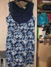 LINDY BOP NAVY FLORAL/EIFFEL TOWER DRESS SIZE 22