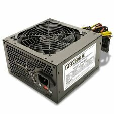 Brand NEW--Powork 600w-Max ULTRA QUIET ATX Power Supply SATA, PCIe & 20+4-pin