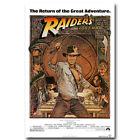 "INDIANA JONES RAIDERS of the LOST ARK Classic Film Silk Poster 13x20 24x36"" 004"