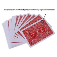 New Secret Marked Poker Cards See Through Playing Cards Tricks Toy P8O2 Ma U4E1