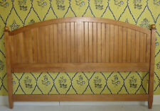 Ethan Allen Country Colors King Arched Panel Headboard Wheat Finish 14 5673