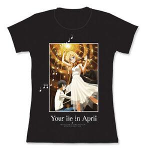 **Legit** Your Lie in April Kaori & Kousei in Concert Sublimation T-Shirt #83473