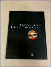 1996 Cadillac Fleetwood Original Car Sales Brochure