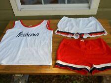 Vintage Auburn University Tigers 70's 80's Basketball Shorts & Tank Top Uniform