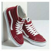 Vans SK8 Hi Rumba Red/True White Fashion Sneaker (VN0A38GEVG4) Size 9 /9.5 /10