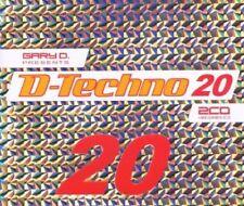 D.TECHNO 20/GARY D. 3 CD NEU - HEADHUNTERZ,FRONTLINER,TECHNOBOY,ABJECT