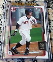 ANDREW BENINTENDI 2015 Bowman #1 Draft Pick Rookie Card RC LOT Red Sox $$ HOT $$