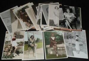 5X7 LQQK 41 vintage 1940s-60s originals, A FEW VERY GOOD GIRLS NEXT DOOR #23