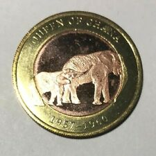 2016 Somaliland 2500 shillings, Elephant, animal wildlife, bi-metallic coin