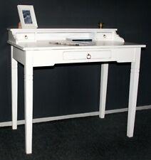 ROLLBUERAU Shabby Chic DAMENSEKRETÄR Weiss Tischkonsole Victorian Schminktisch Stilmöbel nach 1945 Antiquitäten & Kunst