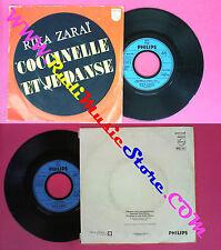LP 45 7'' RIKA ZARAI Coccinelle Et je danse 1981 france PHILIPS no cd mc dvd