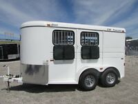 NEW CM 2 HORSE TRAILER SLANT LOAD *ON SALE NOW @ DR TRAILER SALES * SAVE$$$