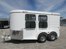 NEW CM 2 HORSE TRAILER SLANT LOAD * SPRING SUPER SALE @ DR TRAILER SALES