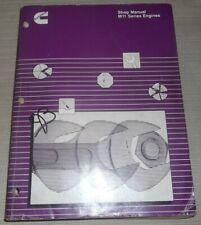 Cummins M11 Motore Servizio Negozio Officina Riparazione Revisione Manual