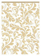 Golden Wedding Paper Tablecover Scroll Gold Tablecloth 50th Anniversary FREE P&P