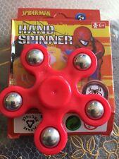 SPIDER MAN fidg dito 5 Spinner LATO FOCUS ULTIMATE SPIN EDC CUSCINETTO stresstoy
