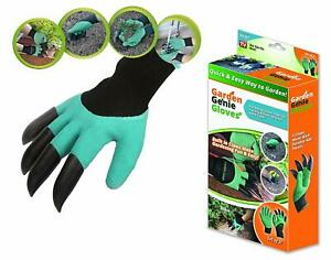 New Garden GENIE Gloves Digging & Planting With 4 ABS Plastic Claws Garden tool