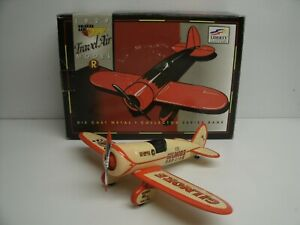 SpecCast Gilmore Red Lion 1929 Model R Airplane Collector Bank Diecast 1/32Scale