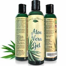 Organic Aloe Vera Gel for Natural Skin Care - Cold Pressed from 100% Pure Alo...
