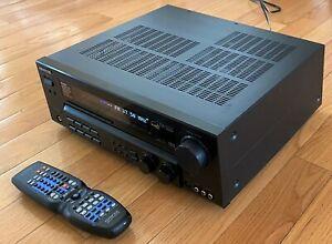 Kenwood VR-6050 5.1 Channel 100 Watt Home Theater Receiver - Black. (READ)