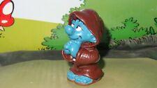 Smurfs Monk Smurf Praying Rare Vintage 20431 Display Germany Figurine