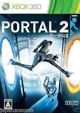 Used Xbox 360 Portal 2 MICROSOFT JAPAN JAPANESE JAPONAIS IMPORT