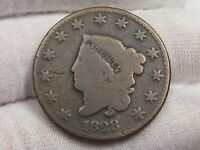 1828 Small Date Large Cent.  #52