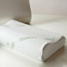 Luxury Bamboo Contour Memory Foam Pillow Orthopedic Neck Head Back Support Large