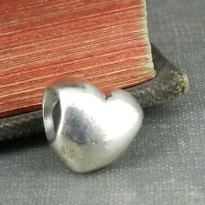 Pandora Sterling Silver Heart Charm Bead #790137