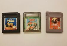 Lote 3 juegos Nintendo Game Boy y Game boy color Leer!!!