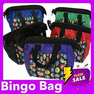 Bingo Carry Case Bag for Bingo Tickets Bingo Dabbers Bingo Gift Lockdown Bingo