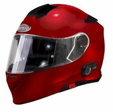 Viper Rs-v171 BL 3.0 Bluetooth Flip-up Motorcycle Helmet - Burgandy L 175