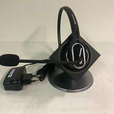 CASQUE SANS FIL POUR TELEPHONE FIXE Sennheiser BASE  DW BS ML + CASQUE DW 20 HS