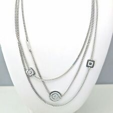 Rebecca Multi-Chain Necklace in Stainless Steel