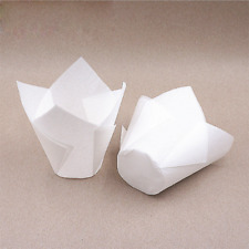 50Pcs Wholesale Cupcake Wrapper Liners Muffin Tulip Case Cake Paper Baking Cup