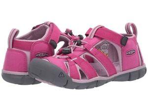 NIB Keen Seacamp ll CNX Very Berry / Dawn Pink Shoe Sandal US Youth Girl 6