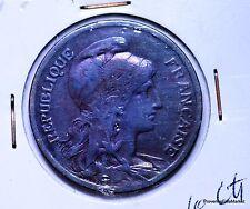 Monnaie France 10 centimes 1917 Dupuis bronze AC388