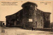 CPA  Le Monastier-sur-Gazeille - L'ancien Cháteau abbatial flanqué de...(517589)