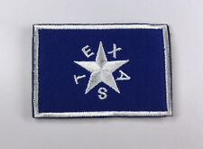 TEXAS Flag USA ARMY  LOGO Tactical MORALE EMBRODIERY HOOK PATCH