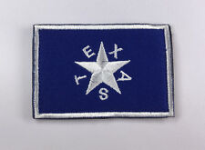 TEXAS Flag USA ARMY  LOGO Tactical MORALE EMBRODIERY HOOK PATCH  sh+ 903