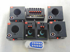 12CH Fireworks Firing system Electric igniter Learning switch music remote stage